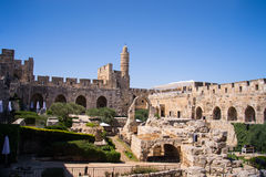 David wierza. Stary miasto Jerozolima. Obraz Royalty Free