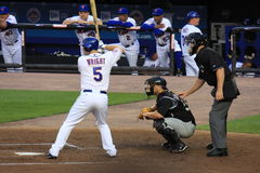 David Wright de Mets Images libres de droits