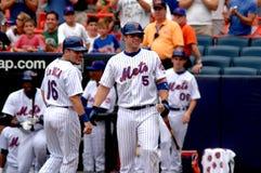 David Wright New York Mets Royalty-vrije Stock Afbeeldingen