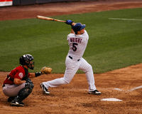 David Wright New York Mets Foto de Stock Royalty Free