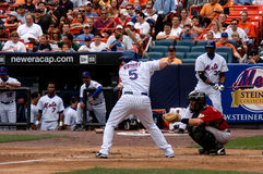 David Wright New York Mets. New York Mets 3B David Wright at bat Stock Photos