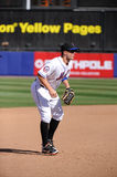 David Wright. New York Mets 3rd baseman David Wright.  Image taken from color slide Royalty Free Stock Photography