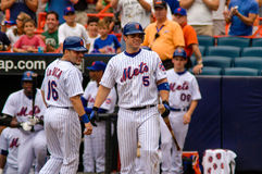 David Wright  and Paul LoDuca Stock Image