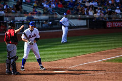 David Wright Pitch Out Royalty Free Stock Images