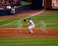 David Wright Triple exposure Stock Images