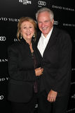 David Yurman. LOS ANGELES - OCT 18: Sybil & David Yurman arriving at the PS Arts 20th Anniversary Event at the Sunset Tower Hotel on October 18, 2011 in West royalty free stock photo