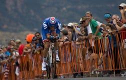 David Zabriskie, USA-Proeinen.kreislauf.durchmachenherausforderung Stockfoto