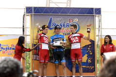 David Zabriskie (USA) Winner First Stage LTDL Stock Image