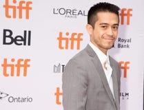 David Zaldivar bij de première van ` Ben Is Back ` tijdens Internationaal de Filmfestival TIFF2018 van Toronto van 2018 royalty-vrije stock afbeelding