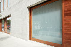 David Zwirner Gallery yttre sikt i Chelsea i en solig dag Arkivbilder