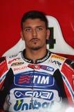Davide Giuliano - Ducati 1098R - Althea-Laufen Lizenzfreies Stockfoto