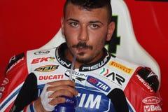 Davide Giuliano - Ducati 1098R - Althea Racing stock photo