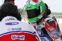Davide Giuliano - Ducati 1098R - Althea Racing stock photos