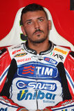 Davide Giuliano - Ducati 1098R - Althea Racing Royalty Free Stock Photos