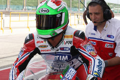 Davide Giuliano - Ducati 1098R - Althea Racing Stock Photo