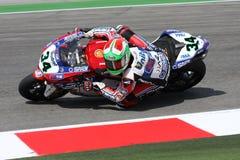 Davide Giuliano - Ducati 1098R - Althea Racing royalty free stock photo