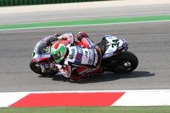 Davide Giuliano - Ducati 1098R - Althea Racing royalty free stock photos