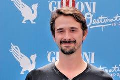 Davide Iacopini al Giffoni Film Festival 2016 Royalty Free Stock Photography