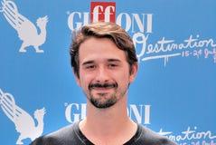 Davide Iacopini al Giffoni Film Festival 2016 Royalty Free Stock Images