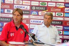 Davide nicola and Aldo Spinelli Stock Image