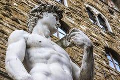 Daviden av Michelangelo Royaltyfri Bild