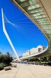 Davids Brücke in Jerusalem Stockfotos
