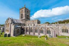 davids katedralny st Wales Obraz Royalty Free