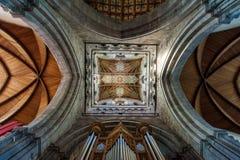 大教堂davids st威尔士 库存照片