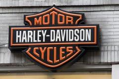 davidson λογότυπο harley Στοκ φωτογραφίες με δικαίωμα ελεύθερης χρήσης