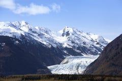 Davidson Glacier Fotografia Stock Libera da Diritti
