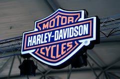 davidson harley徽标 免版税库存照片