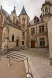 Davinci house in Amboise stock photo