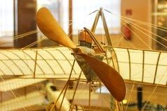 DaVinci& x27; s vliegtuigmodel royalty-vrije stock fotografie