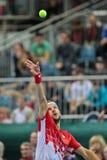 Davis Cup Αυστρία εναντίον της Ρωσίας Στοκ Φωτογραφία