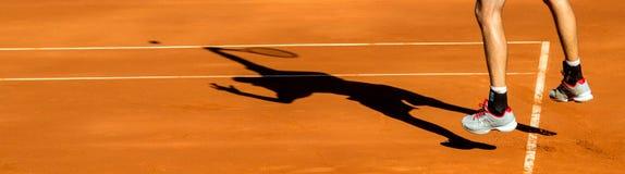 Davis Cup: John Isner Royalty Free Stock Photography