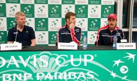 Davis Cup 2018, Nis, sportmitt Cair SERBIEN vs USA, andra dag, 03 Februari 2018, Arkivfoton
