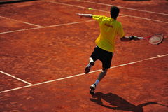 Davis Cup: Romania 5-0 Ecuador (Bucharest) Royalty Free Stock Images