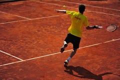 Davis Cup: Romania 5-0 Ecuador (Bucharest) Royalty Free Stock Images