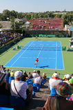Davis Cup tennis game Ukraine v Austria Royalty Free Stock Photography