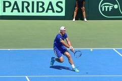 Davis Cup: Ukraine v Austria Royalty Free Stock Image