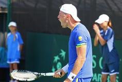 Davis Cup: Ukraine v Austria Stock Images