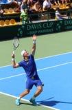 Davis Cup: Ukraine v Austria Royalty Free Stock Photos