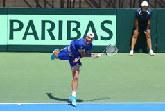 Davis Cup: Ukraine v Austria Stock Photography