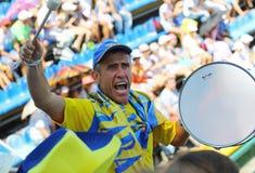 Davis Cup: Ukraine v Austria Stock Image