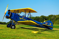 Davis D1W. A Davis D1W biplane on display Royalty Free Stock Images
