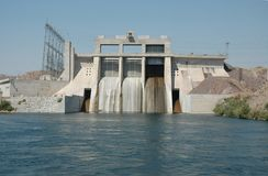 Davis Dam Royalty Free Stock Image