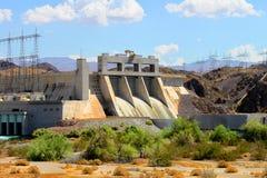 Davis Dam Laughlin Nevada stockbilder