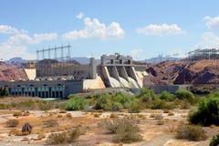 Davis Dam Laughlin Nevada lizenzfreies stockbild