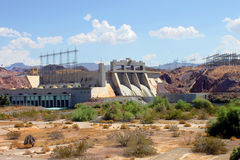 Davis Dam Laughlin Nevada Royalty Free Stock Image