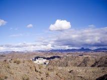Davis Dam no Rio Colorado imagem de stock royalty free